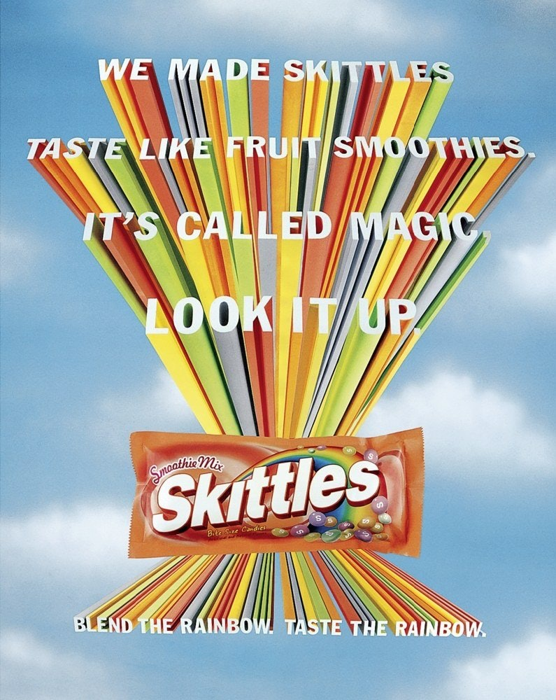 Skittle Smoothie Mix