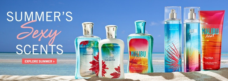 Bath and Body Works Scents