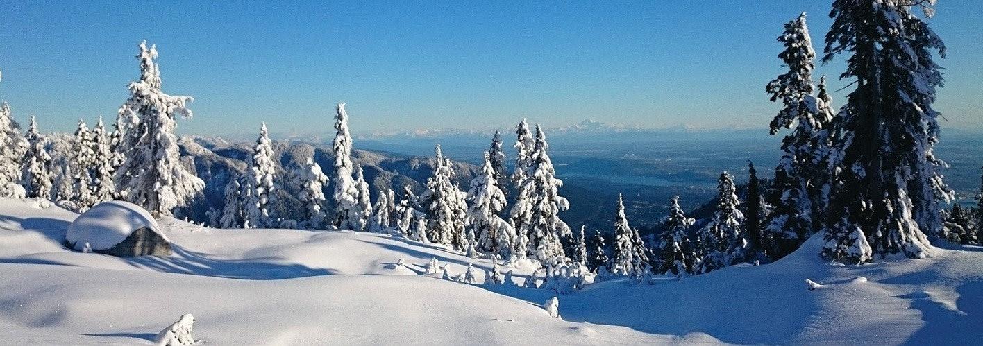 Winter Mountains in Colorado
