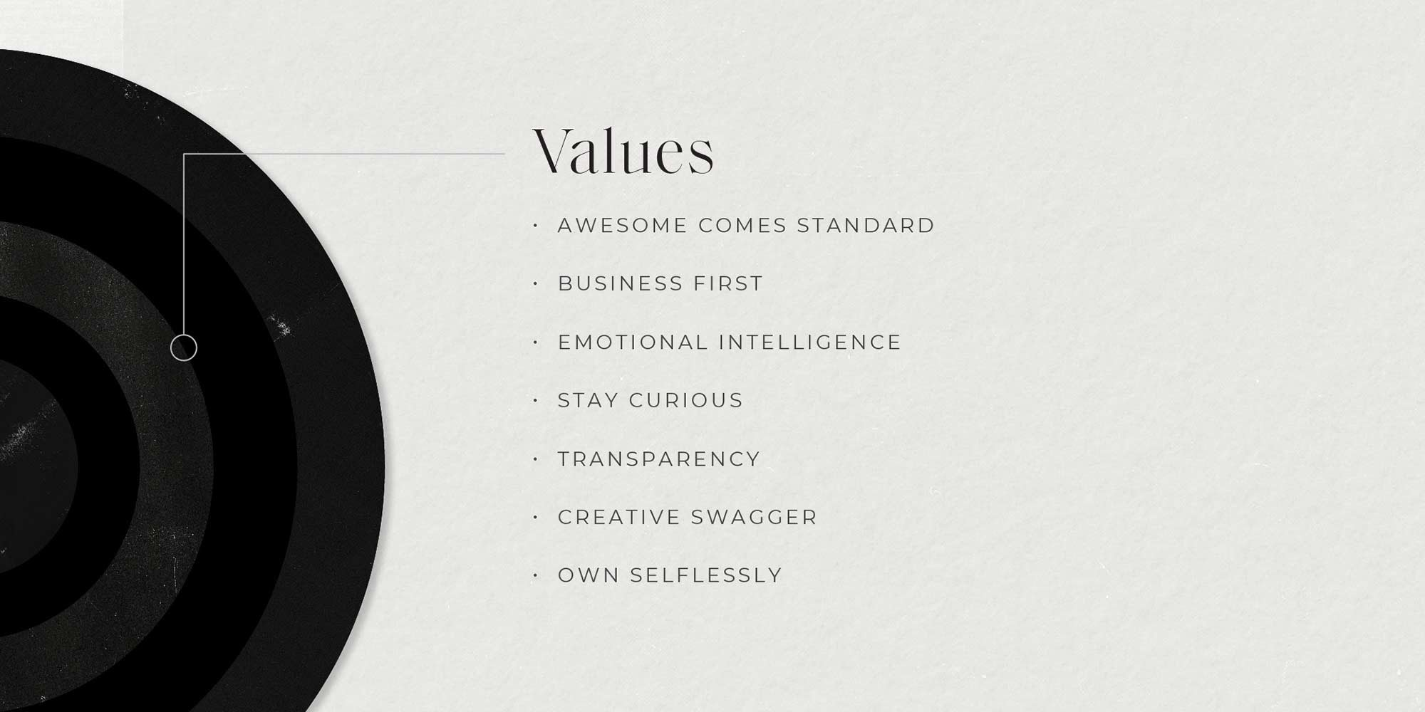 Brand Values Brand Wheel