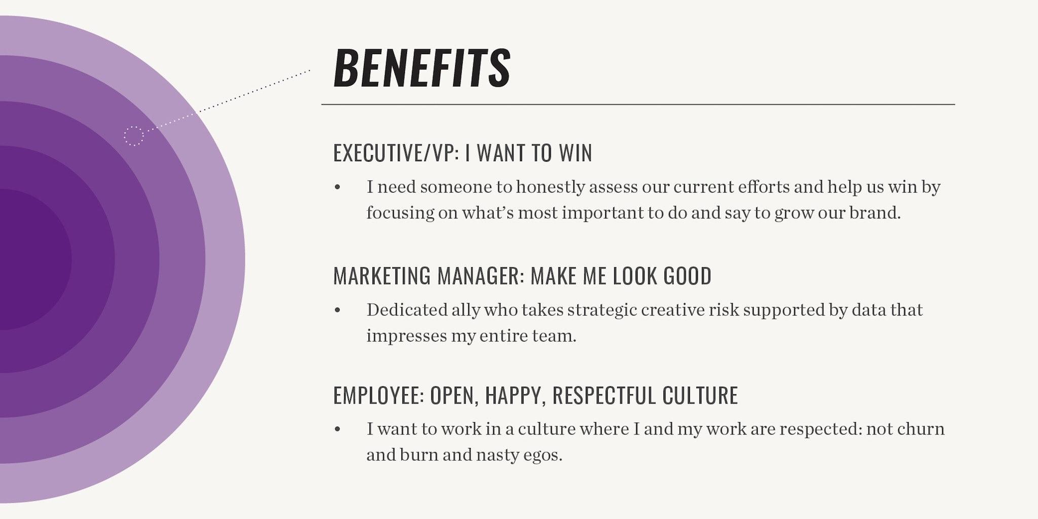 brand wheel benefits template example