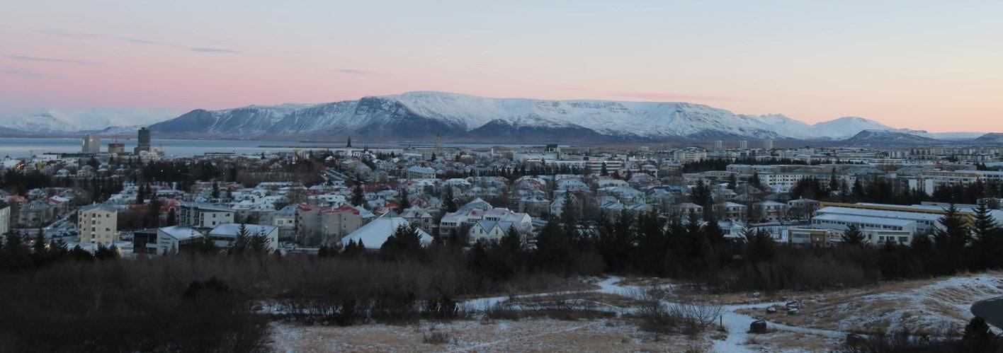 Scandinavian Landscape in the Winter