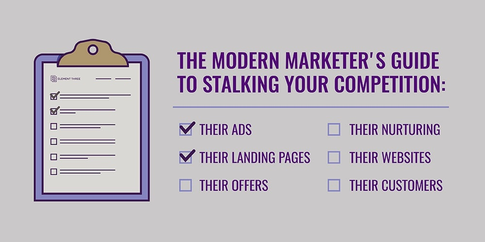 Stalking Your Competition's Landing Pages