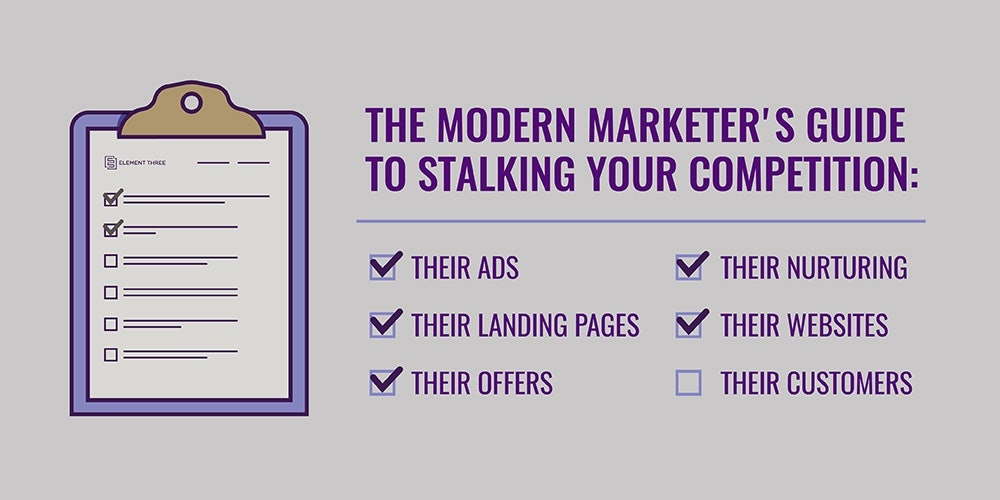 Stalking Your Competition's Websites