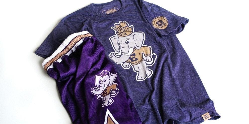 e3 kickball shirt and shorts