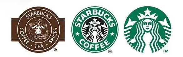 Starbucks Logos Over the Years