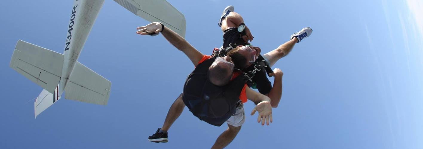 Jeremy Haddock Sky Diving
