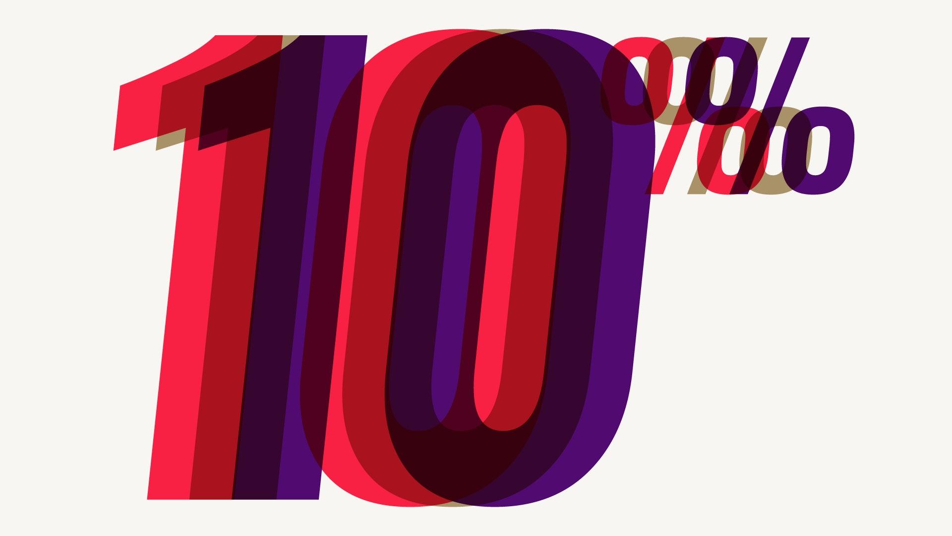 10% 10% 10% rules