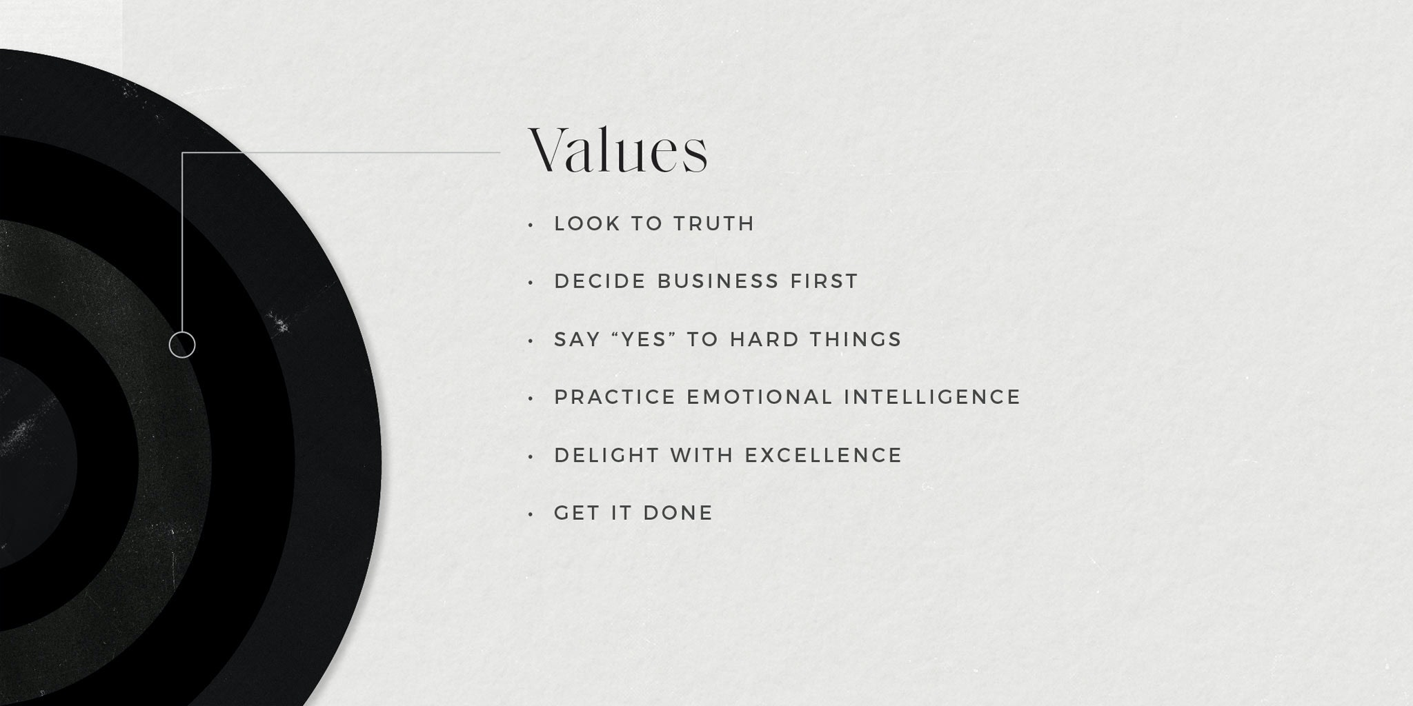 element three core values