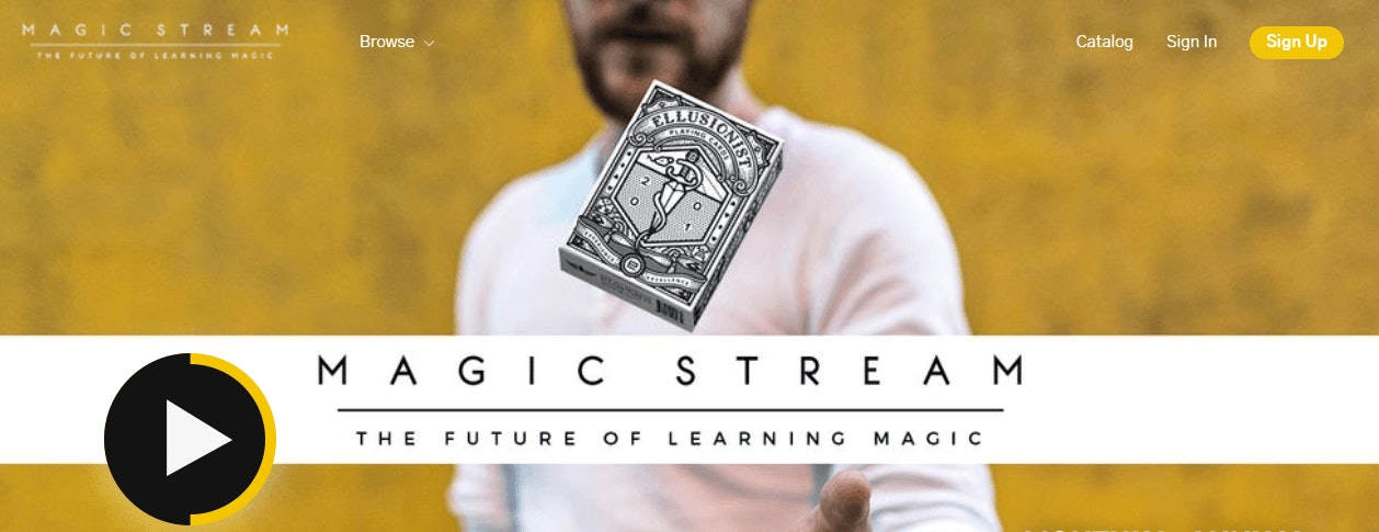 MagicStream Homepage