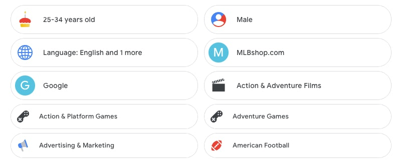 Thomas' Google preferences